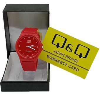 Harga Penawaran QQ - jam tangan wanita dan anak sporty QQ Q&Q QnQ Original - rubber strap - water resist discount - Hanya Rp24.249