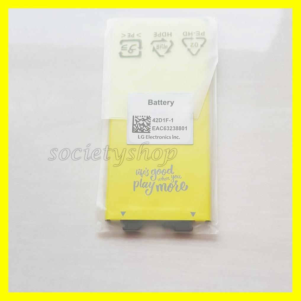 Baterai Hp LG G5 Original Batre BL-42D1F Asli Ori Battery G5SE Batray Batere Bateray Batu kuning