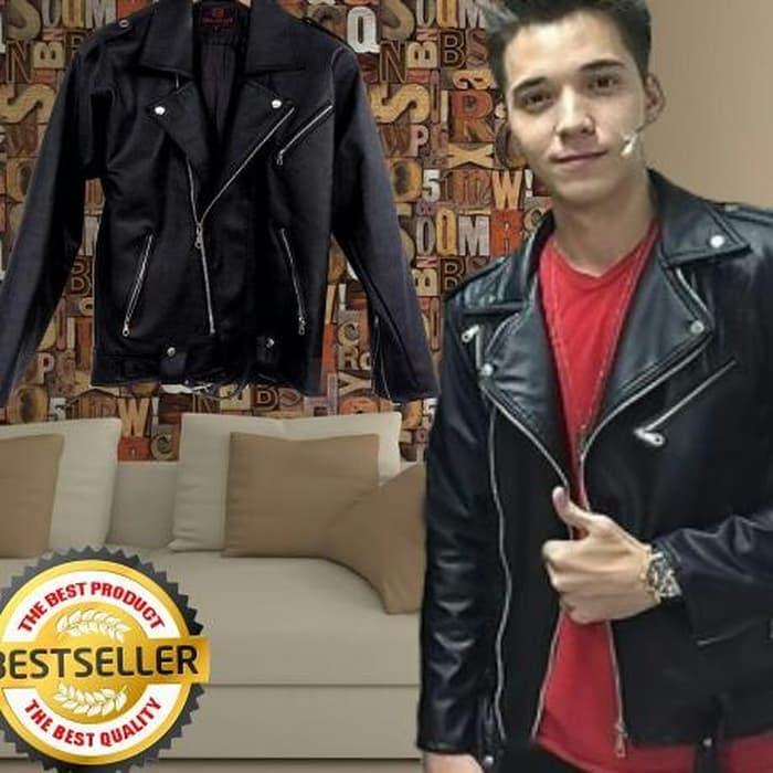 Jaket Motor Model Rider Boy Anak Jalanan / Jakeet Kulit Murah TERMURAH