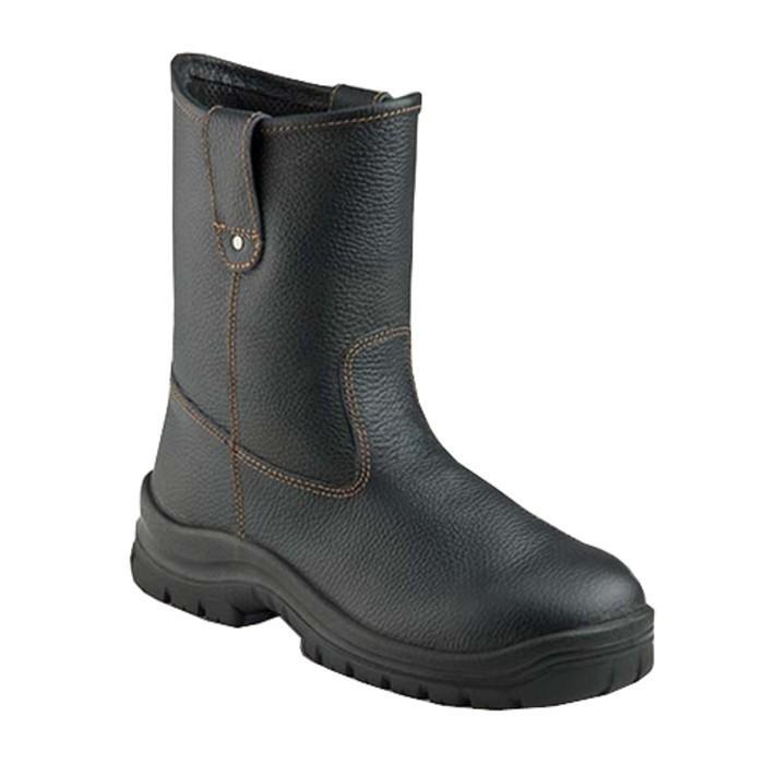 Sepatu Safety Shoes Krushers Texas Black - 7Zecdv