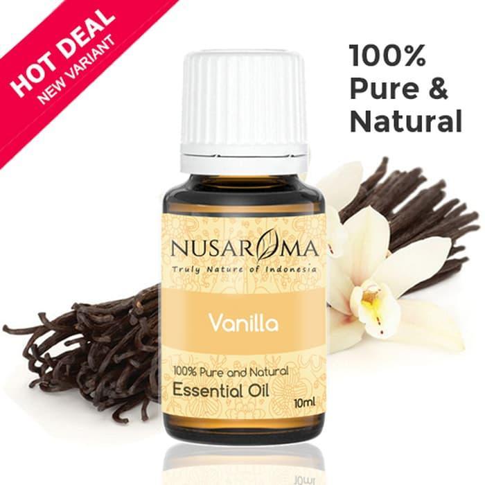 10ml - Vanilla Essential Oil (Minyak Vanili) 100% Pure