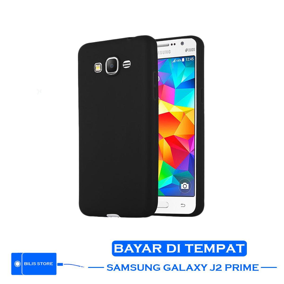 Case Ultraslim Samsung Galaxy J2 prime Color Black Silikon Shockproof Black Color Casing hp Samsung