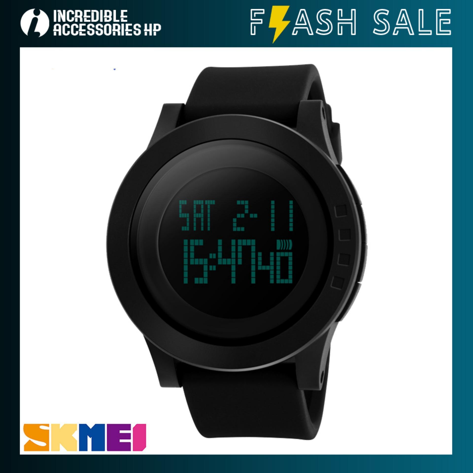 FLASH SALE  SKMEI 1142 Jam Tangan Pria LED Digital Sport Pria Water  Resistant 50m be7ae6a4d7