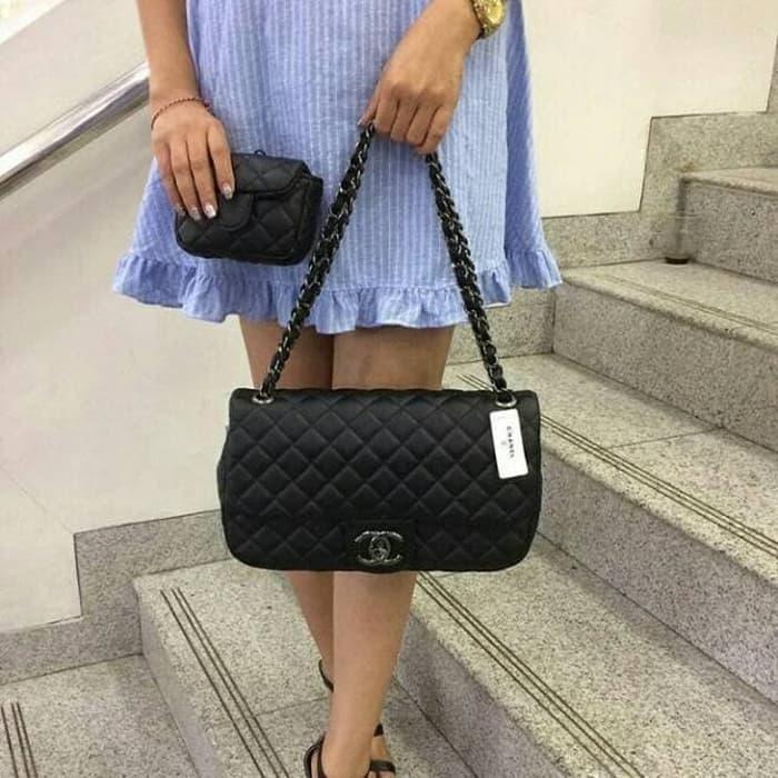 Tas Wanita Fashion Branded Chanel Mom N Kids Berkualitas Handbag