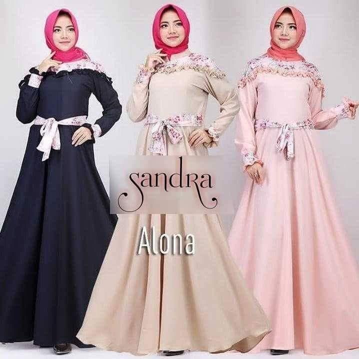 JAKARTA GROSIR -  sandra alona sf.f Fashion Dress / Atasan / Tunik / size M, L dan XL