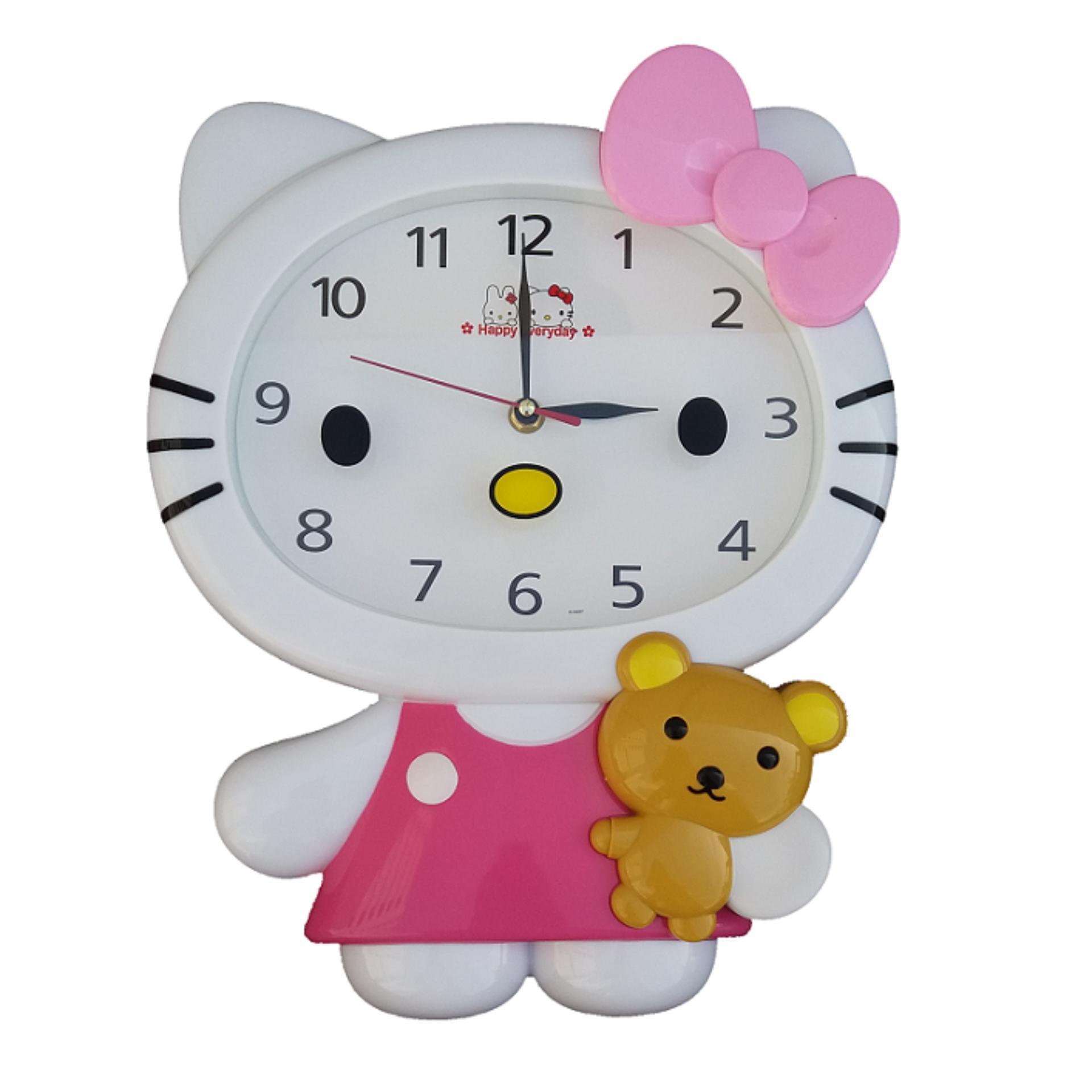 Hello Kitty karakter Jam Dinding HK-5157