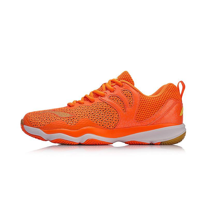 [2018 item baru] LINING Pria Sepatu bulutangkis bernapas Menyerap Keringat Anti Selip musim panas sepatu olahraga AYTN015