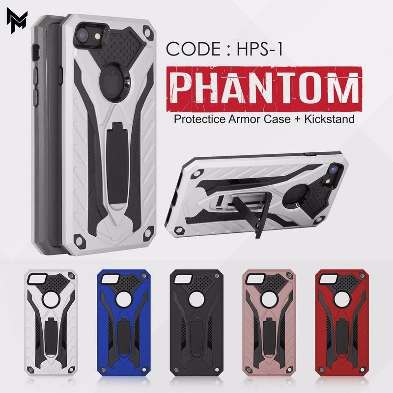 Hardcase Phantom Case Robot Standing - Vivo V7+ V7 Plus