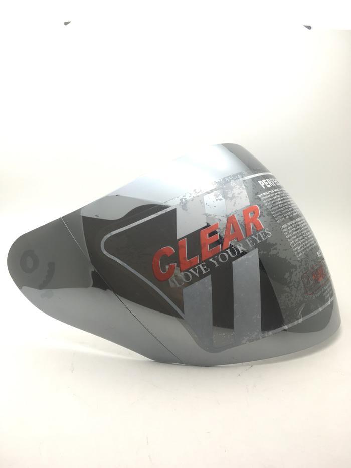 Kaca Helm INK Centro/ KYT DJ maru/KYT Galaxy Silver Merk Clear