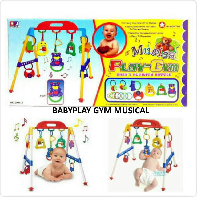 Musical BABY PLAYGYM - MAINAN PLAY GYM ANAK ANAK BRG160008 308bbdaa9e