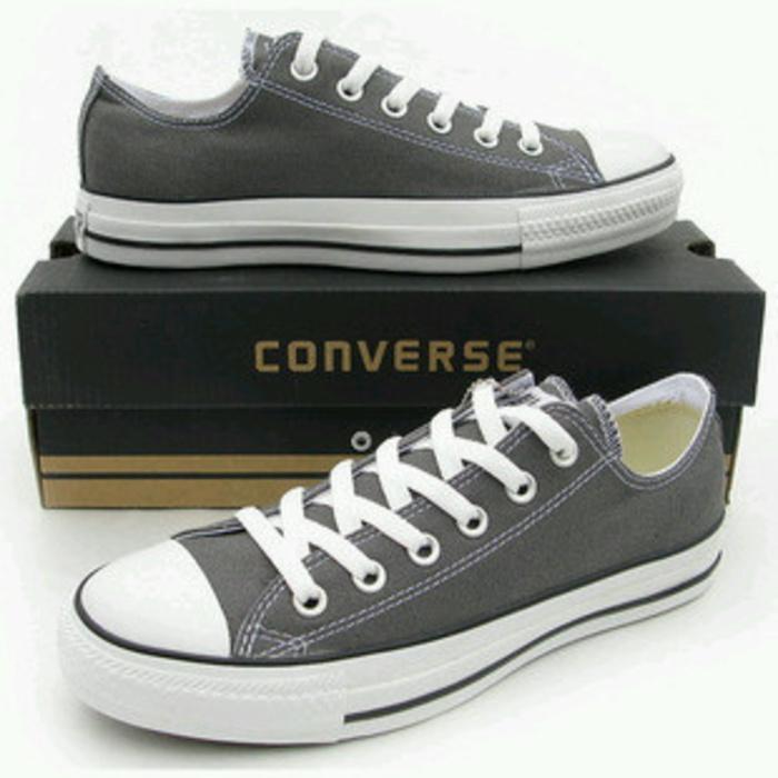 Sepatu KANVAS SNEKER ALL STAR  ABU ABU  PRIA + BOX SEPATU MASA KINI ce3b3bd79d