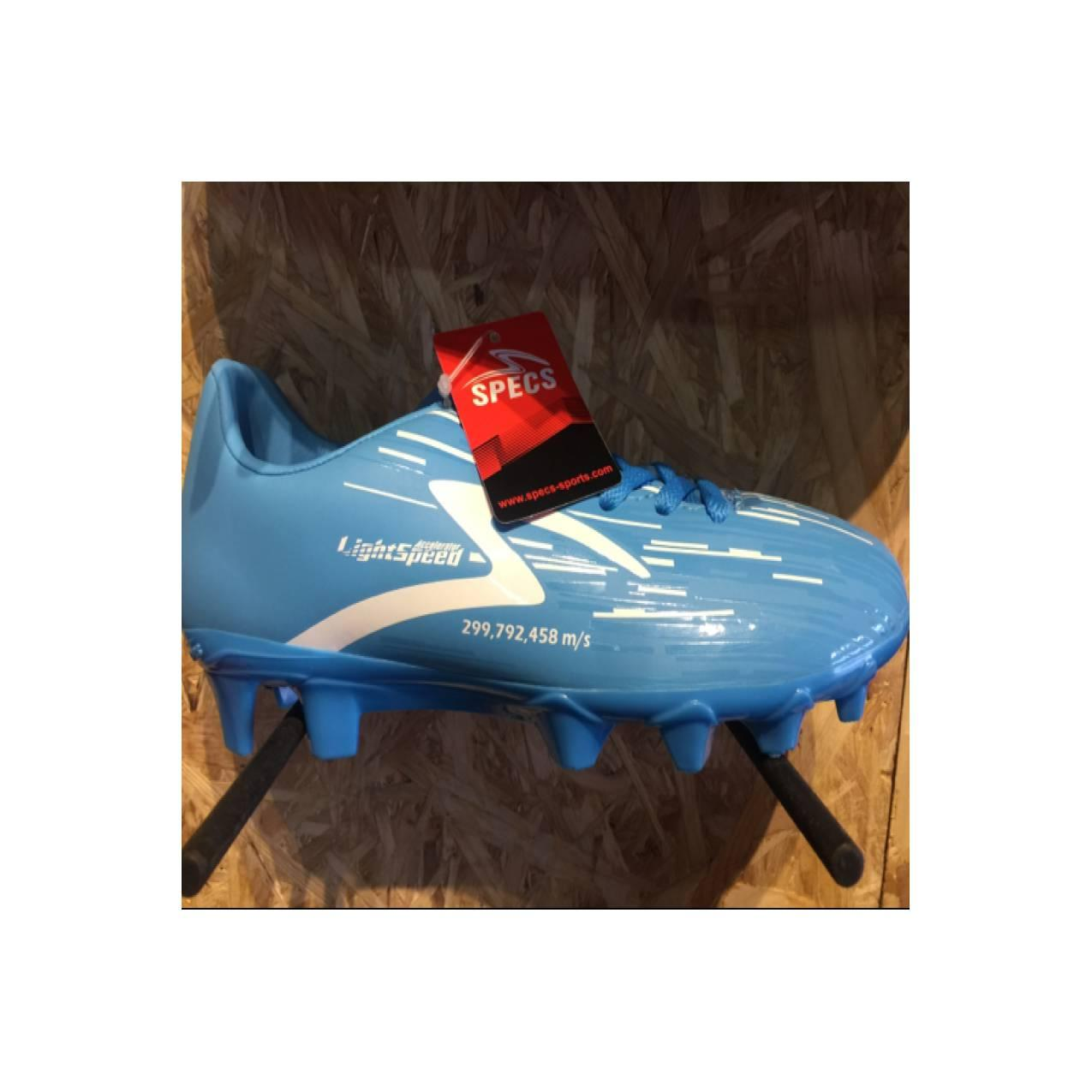 Sepatu bola specs original Accelerator lightspeed jr blue white