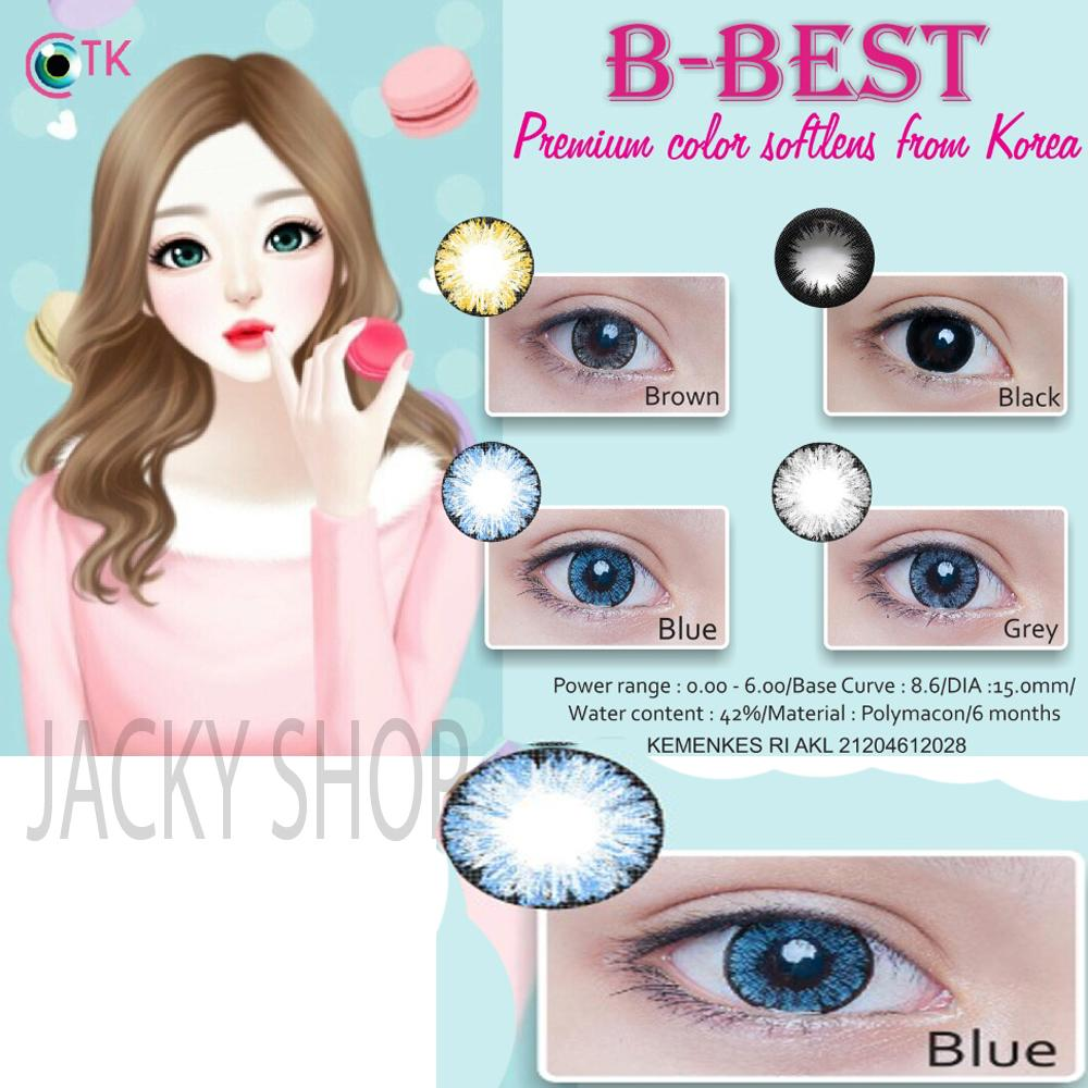 B-Best Softlens - Blue + GRATIS Lenscase