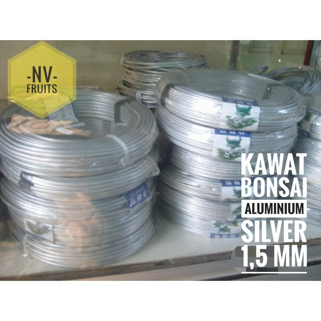 Kawat Aluminium Silver Bonsai 1 mmIDR115000. Rp 115.000