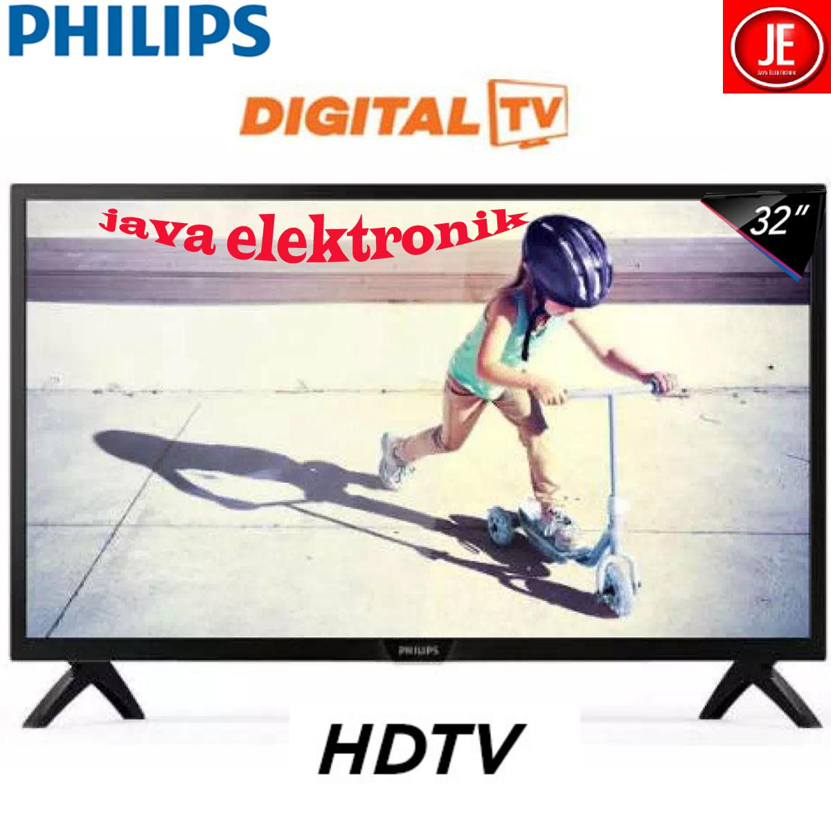 PHILIPS LED TV 32 Inch PHT Digital TV - 32PHT4002 GARANSI RESMI