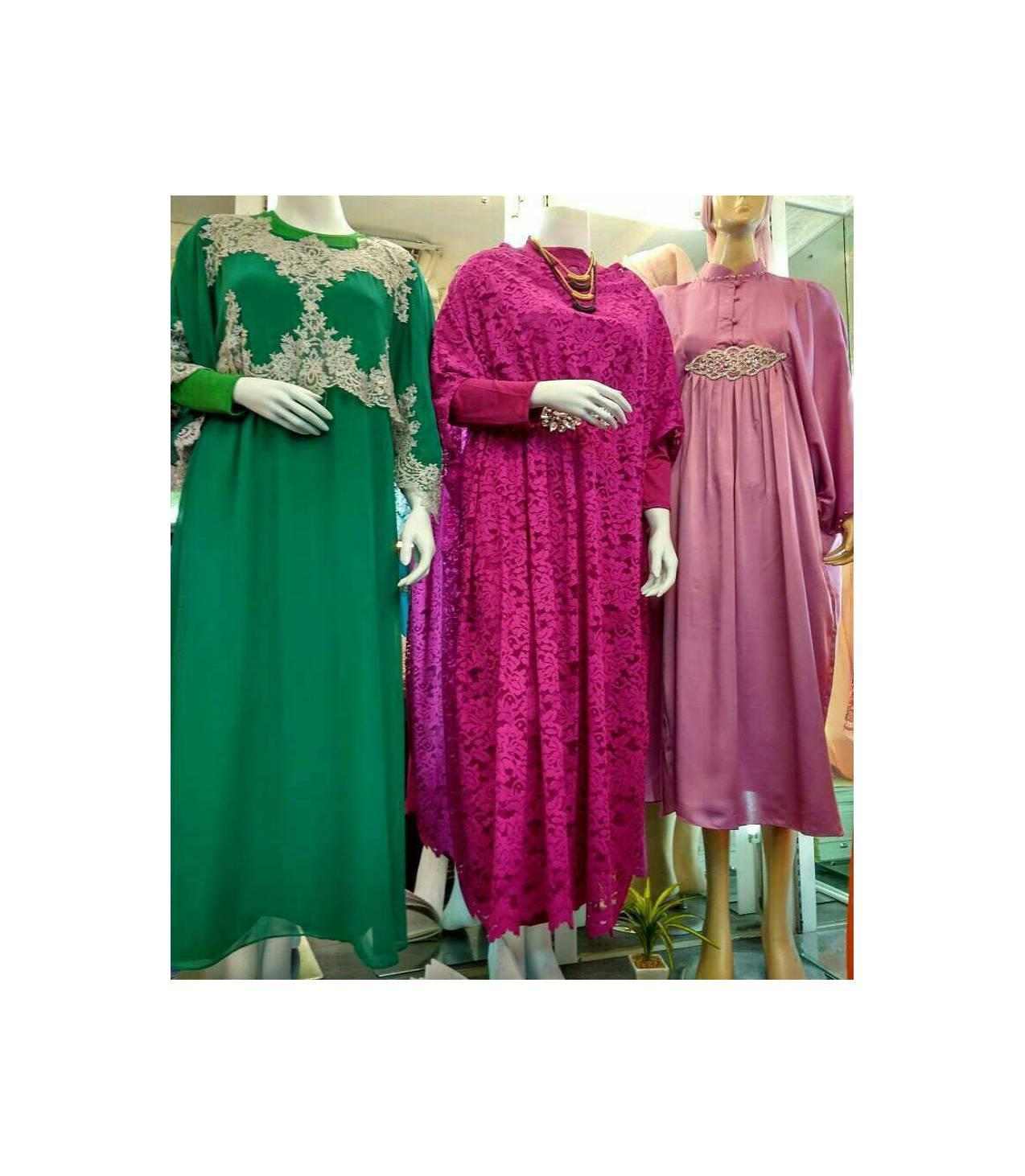 Best Quality Gamis Putri Collection (pink kanan) Rp 450.000