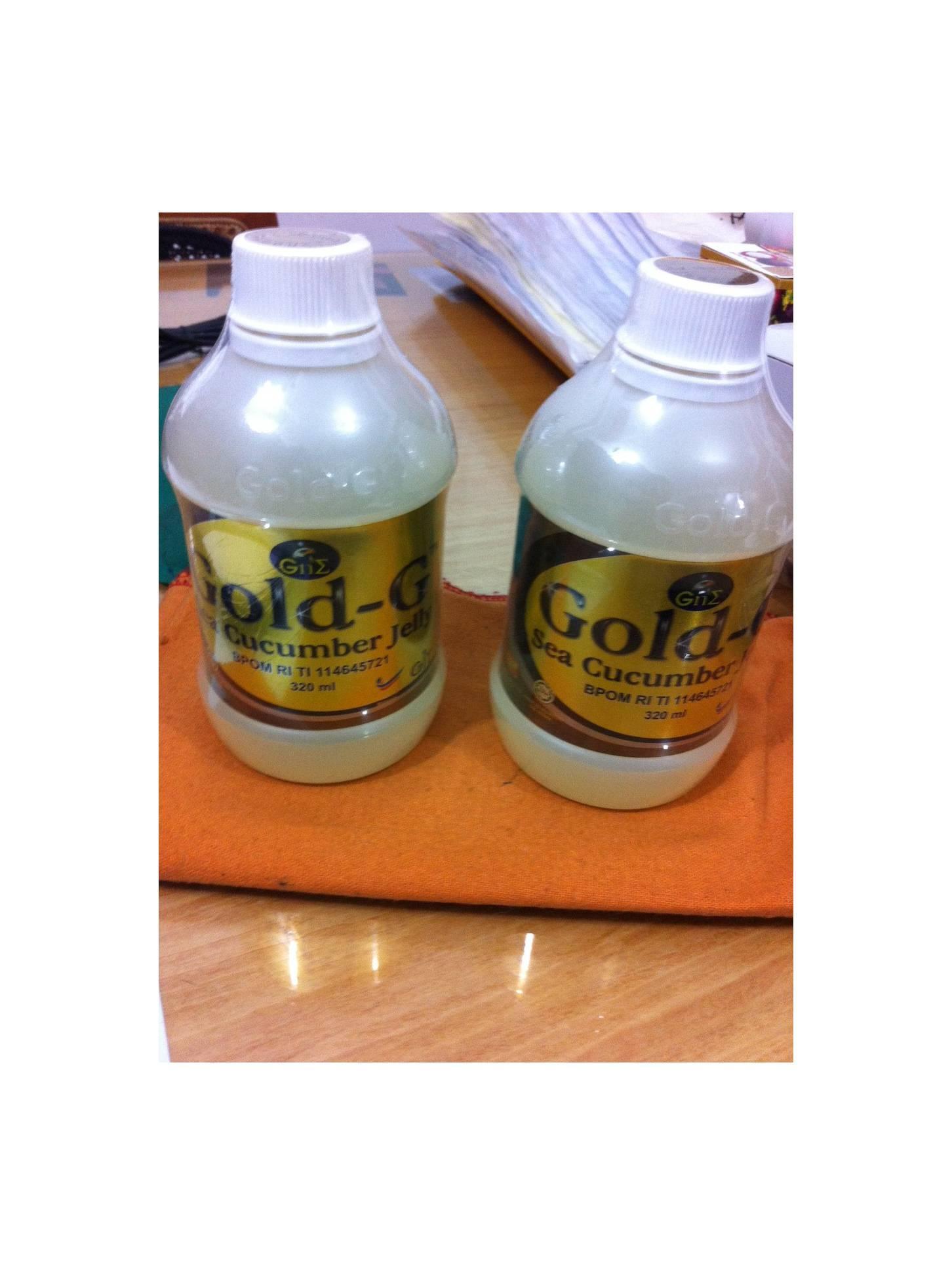 Promo Harga Jelly Gamat Gold G Sea Cucumber 320 Ml Termurah 2018 New Vario 110 Esp Cbs Estilo Black Kudus List Juli Review Gne 1