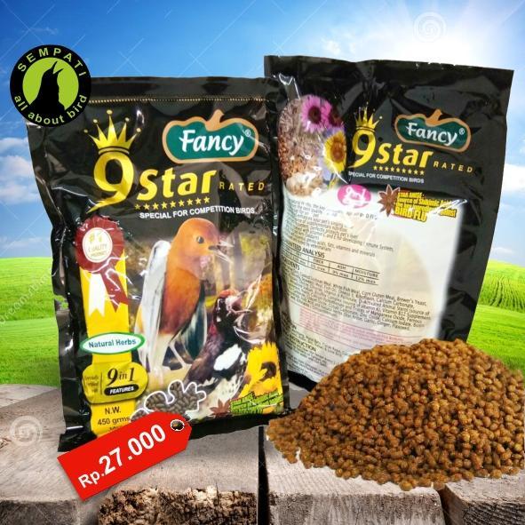 Pakan Burung Kenari Herbal Fancy 9 Star