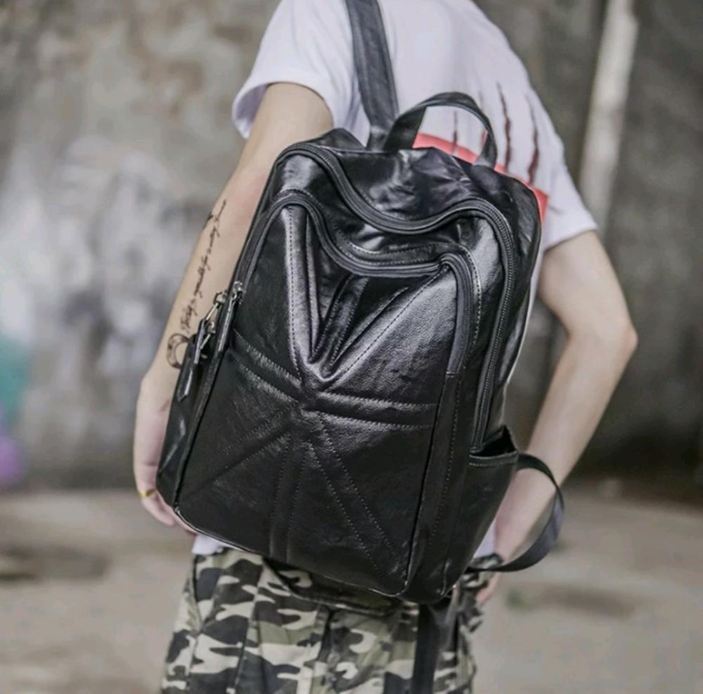 tas punggung pria wanita - tas backpack ransel cewek cowok import murah - tas sekolah kuliah kerja kantor - branded batam hp ipad dompet handback di lapak pelangi_bag bagusia08