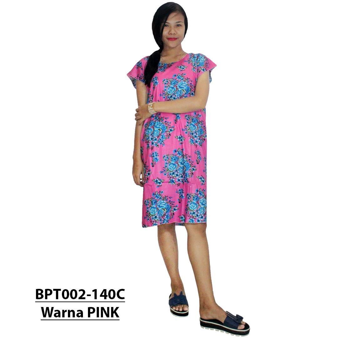 Midi, Daster Midi, Dress Santai, Baju Tidur, Piyama, Atasan Batik (BPT002-140) Batikalhadi Online