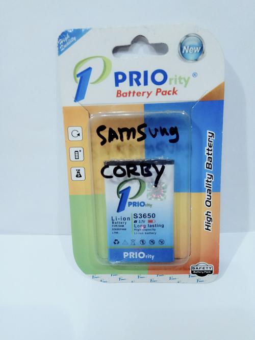 Priority Battery Batt Batre Baterai Samsung Lakota dan Corby S3650, B3410, C3222, S5620