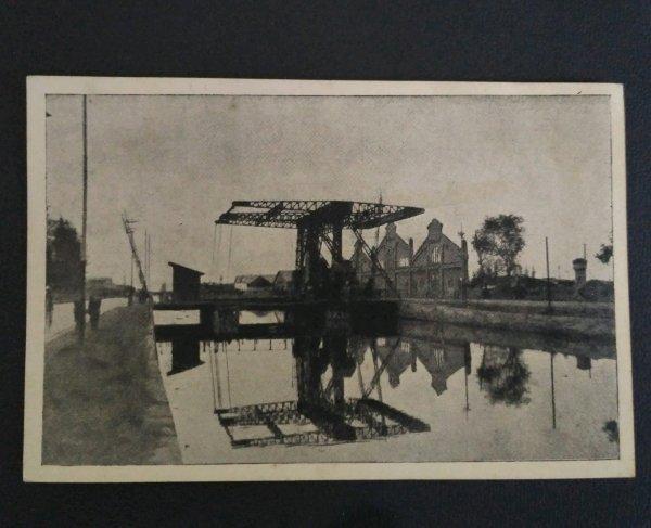 Post Card antik Gambar Djembatan Timbang Kalibaru- Semarang.