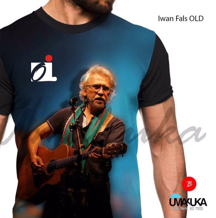 Iwan fals old kaos musik 3d umakuka fullprint