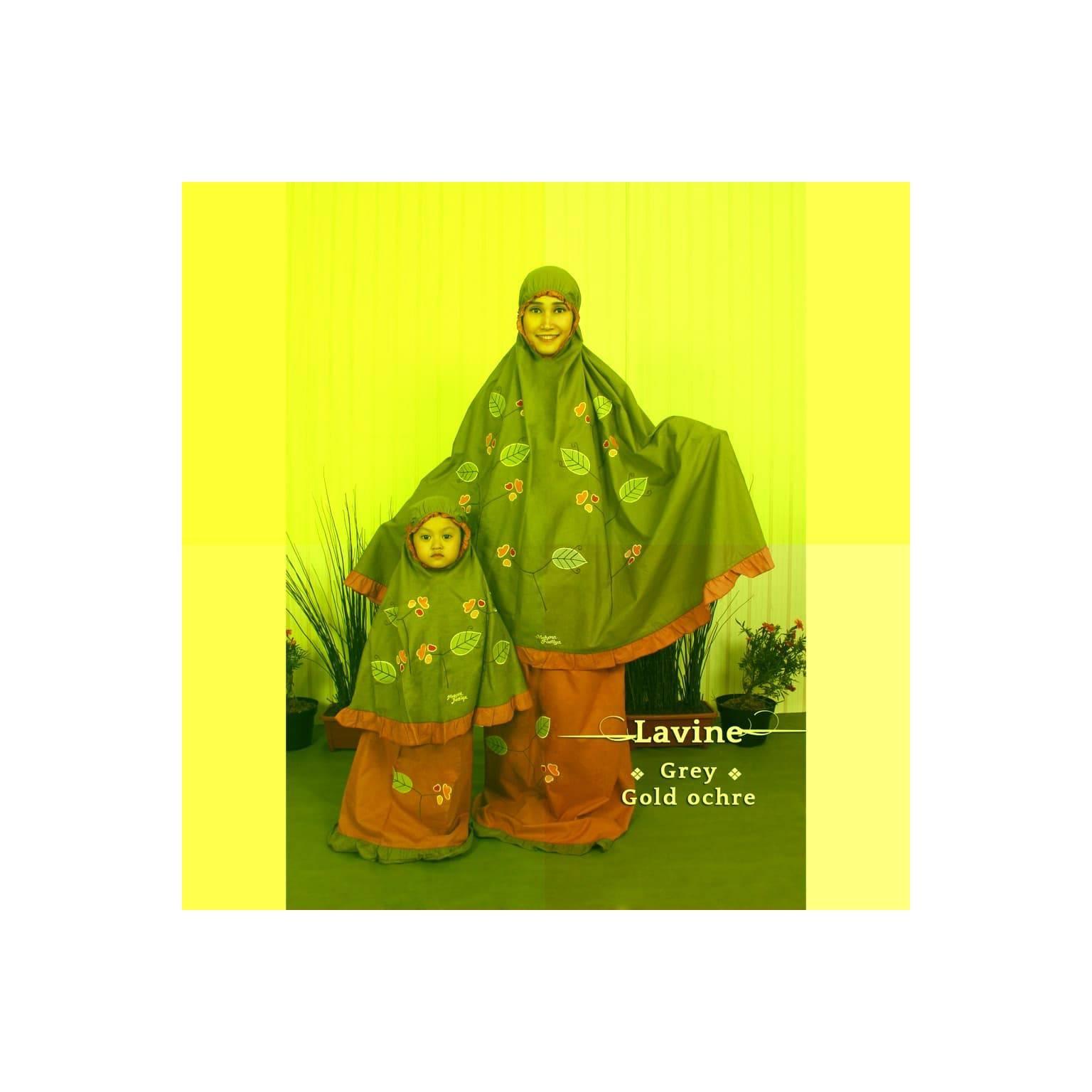 Mukena Couple Ibu Anak Cantik Fathiya Lavine