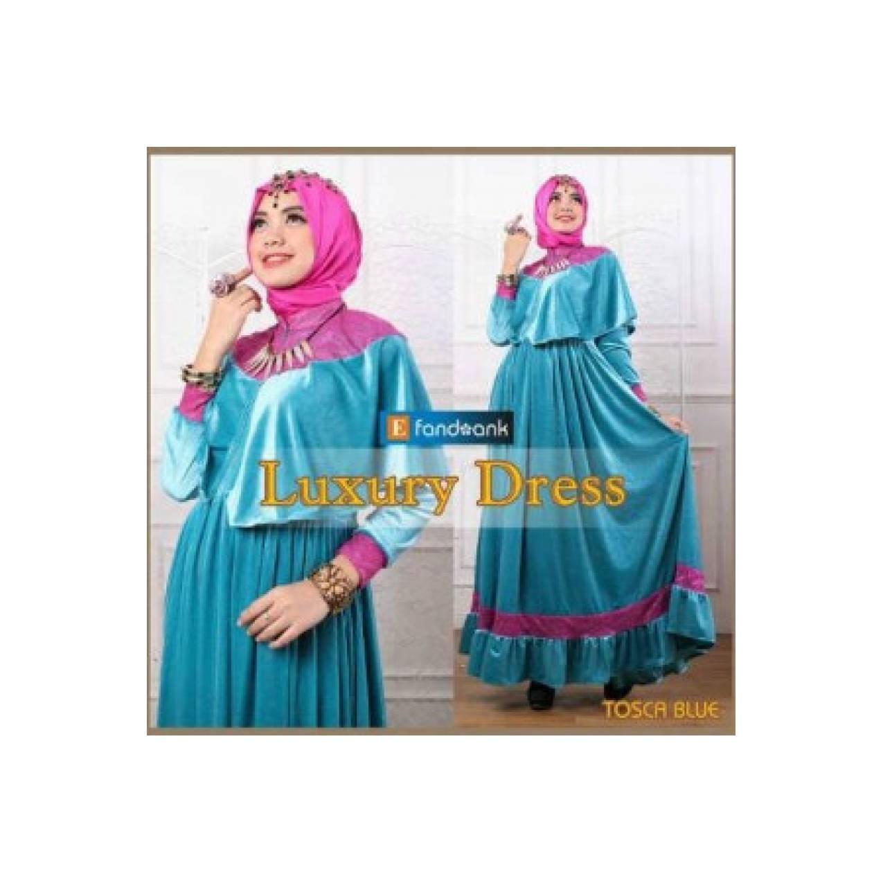 Baju pesta mewah exclusive luxury dress by efandoank origina T2909