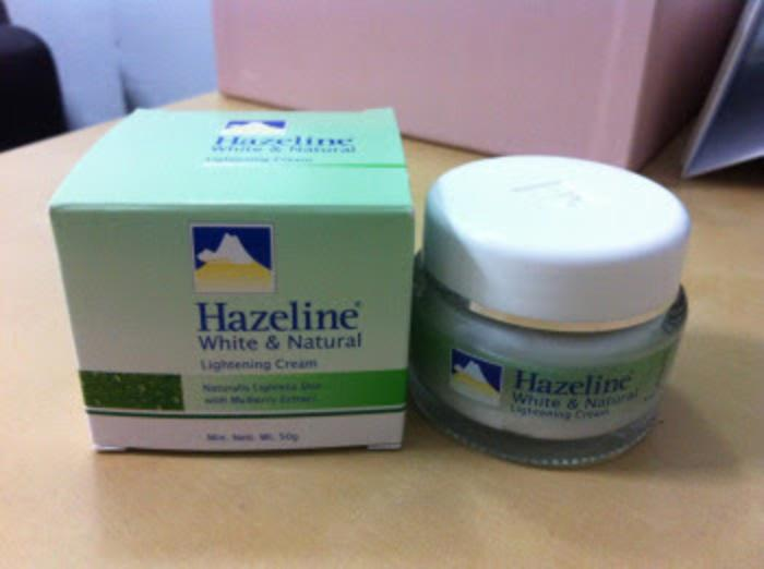 Cream Wajah Hazeline White And Natural Mengandung UVA dan UVB 1 Pcs