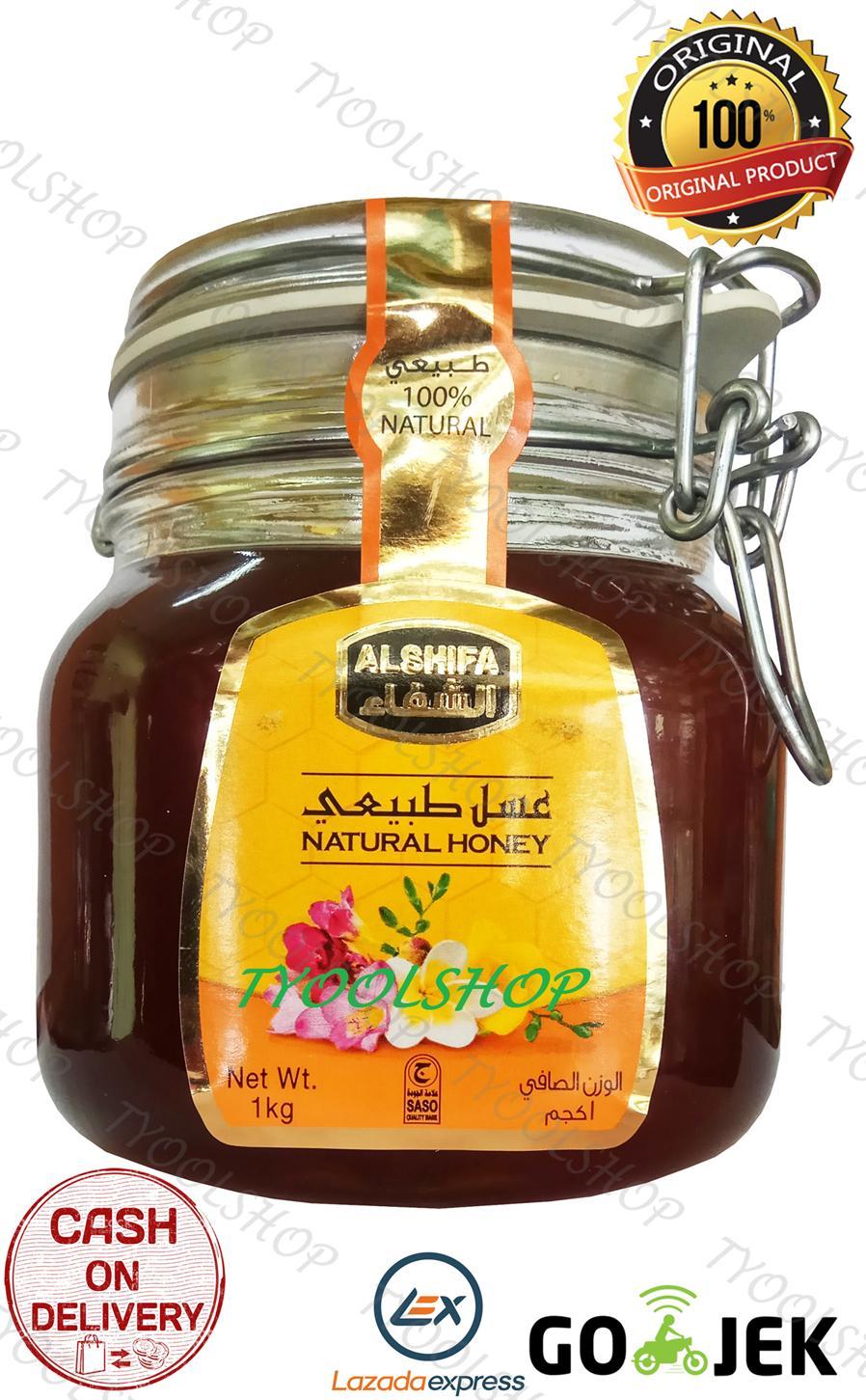 Jual Madu Al Shifa Murah Kaya Manfaat Sehat Klinik 400gr Arab Natural Honey Original 1kg