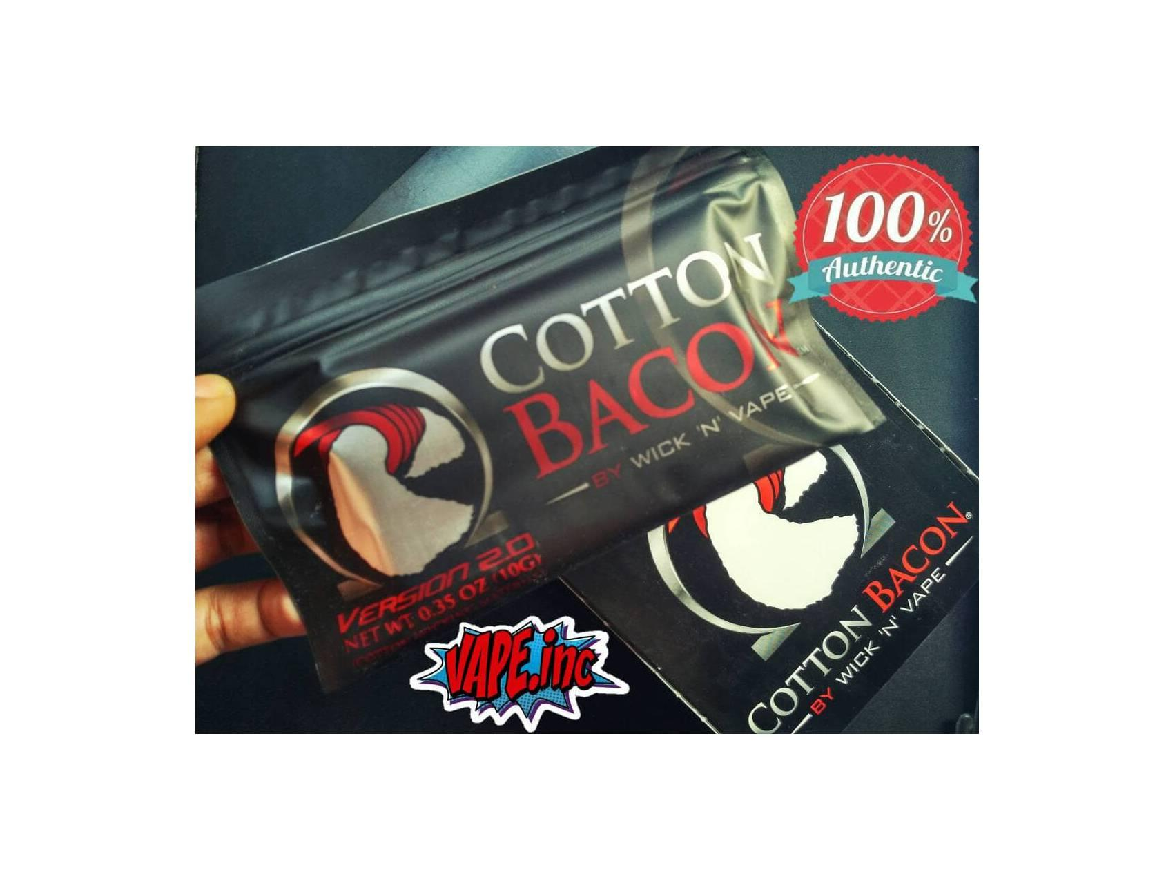 Authentic COTTON BACON V2 / Version 2.0 by Wick N Vape *(not atomix