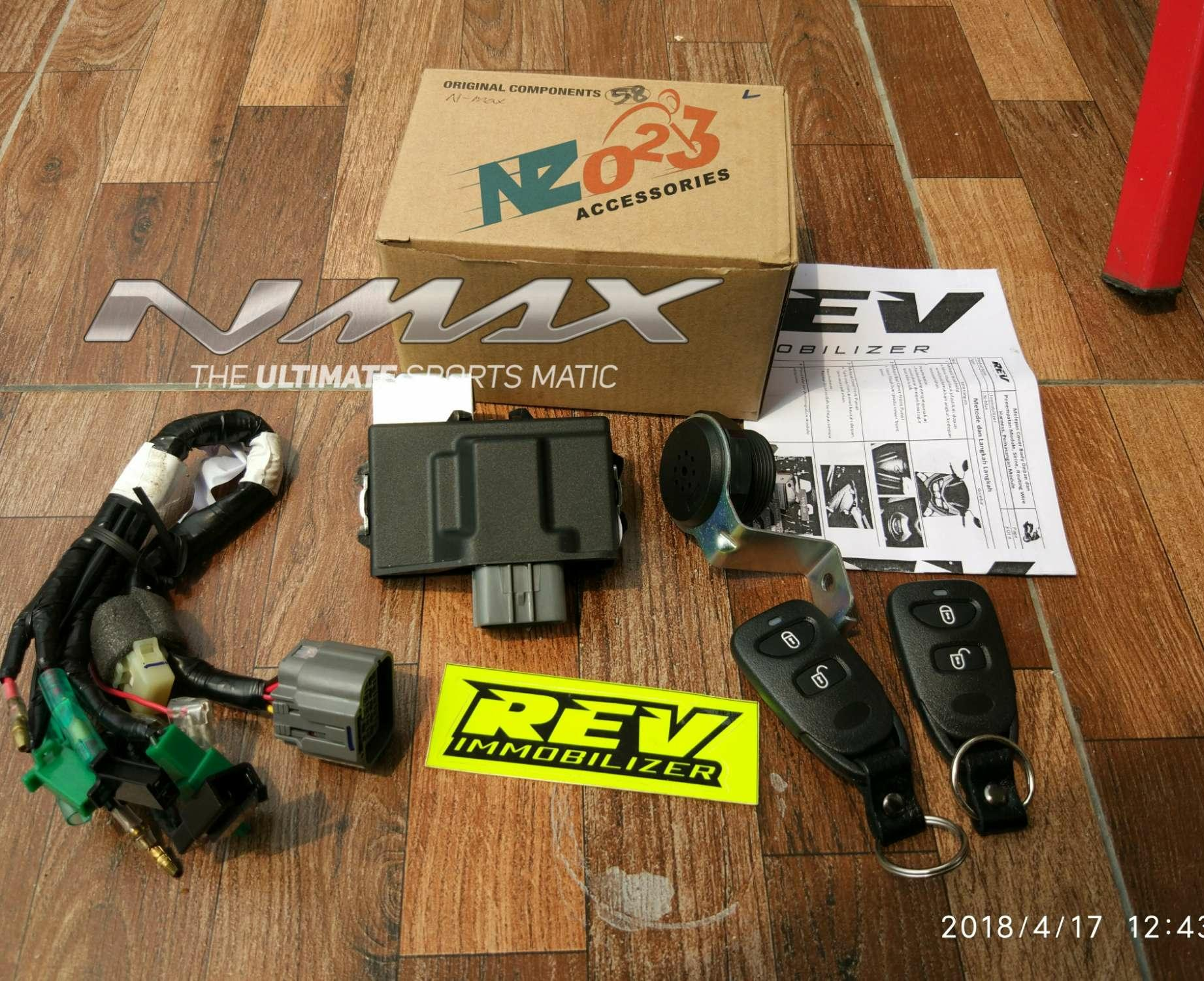 Alarm Remote Rev Immobilizer Yamaha NMAX