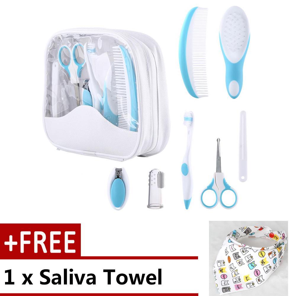 7 Pcs/set Bayi Squishy Kit Layanan Kesehatan Bayi Harian Perawat Alat Sisir Rambut Kuku Panas-Internasional By Duoqiao.