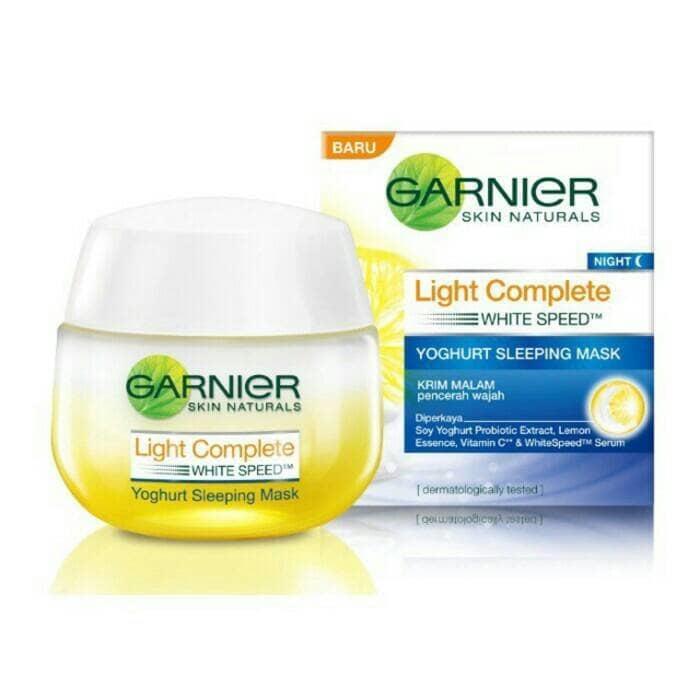 Garnier Light Complete - Yoghurt Sleeping Mask 50ml