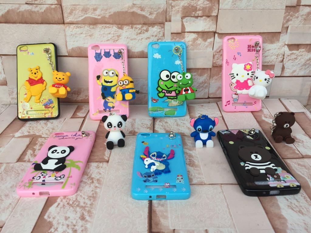 Case/Softcase Karakter 3D Gantungan For Xiaomi Redmi 4A - PM2902