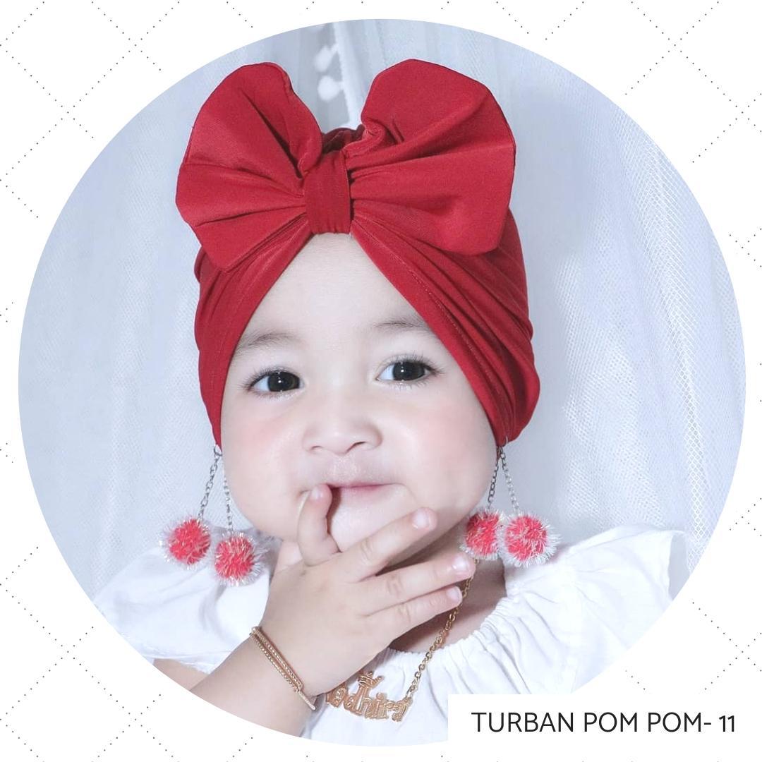 LittleAnnasya - Turban Bayi Perempuan  Turban Anak  Turban Pesta  Turban  Pita Warna Anak 7092a22248