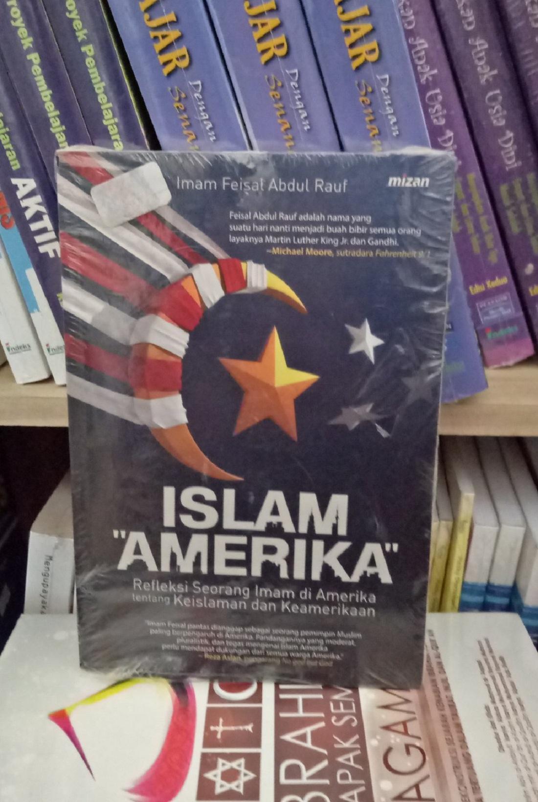 Islam Amerika - Imam Feisal By Metro Bookstore Malang.