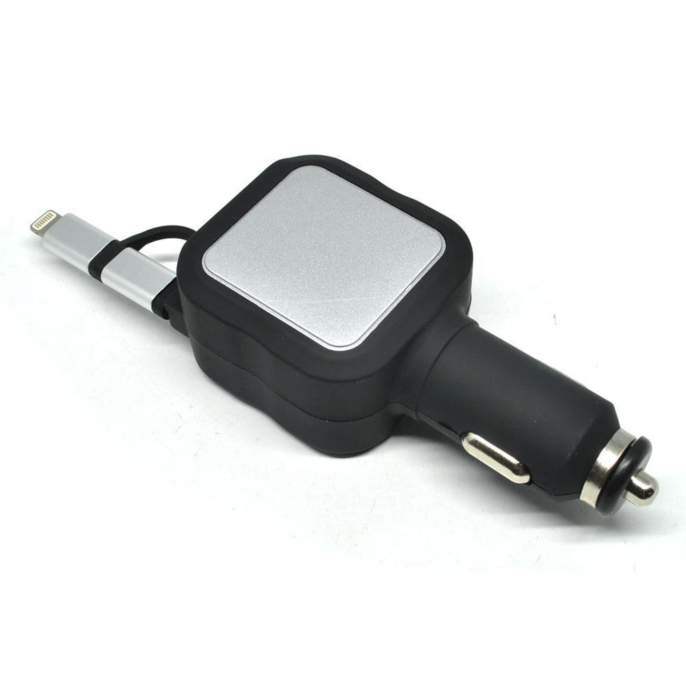 Buy Sell Cheapest Retractable Lightning Kompatibel Best Quality Uneed Power Delivery Kabel Data Type C To Max 2a Ucb27ci Car Charger Micro Usb 48a Dengan 2 Port Black