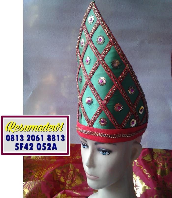 Promo Merdeka!! Mahkota Pria Minang Baju Adat Karnaval Kostum Tari Anak Tradisional - ready stock
