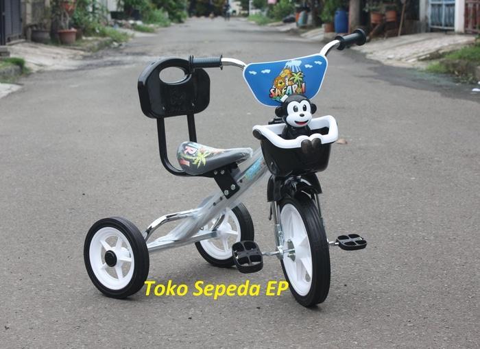 Promo Sepeda Roda 3 PMB plus musik anak Balita