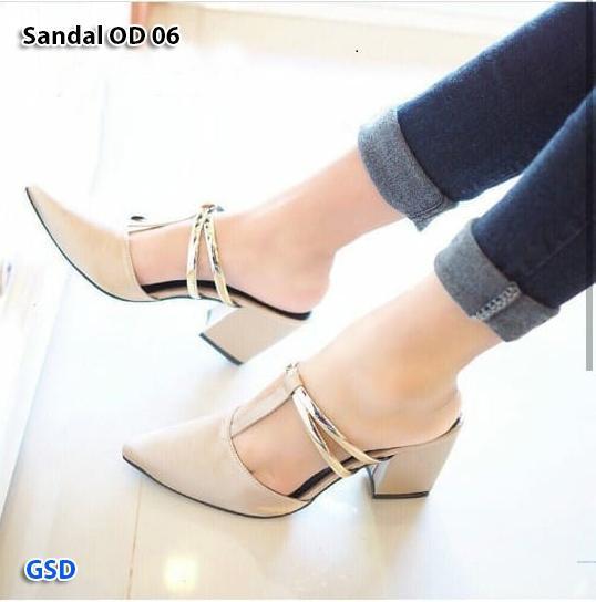 Fashion / sandal wanita / sandal hils glow / Sandal OD 06