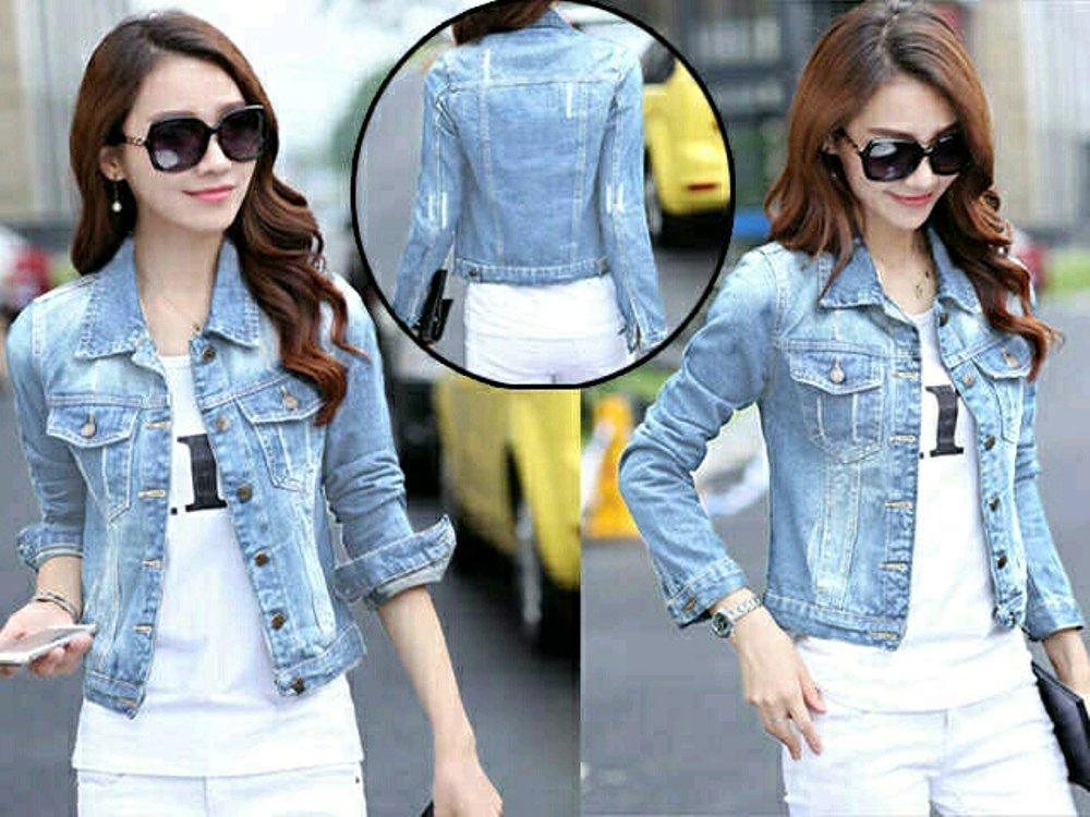 Jaket Jeans Wash Felicia 2Warna di lapak Toko Kembar Tanah Abang rinymangiwa