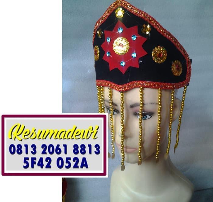 Terbaru! Mahkota Wanita Betawi Baju Adat Karnaval Kostum Tari Anak Tradisional - ready stock