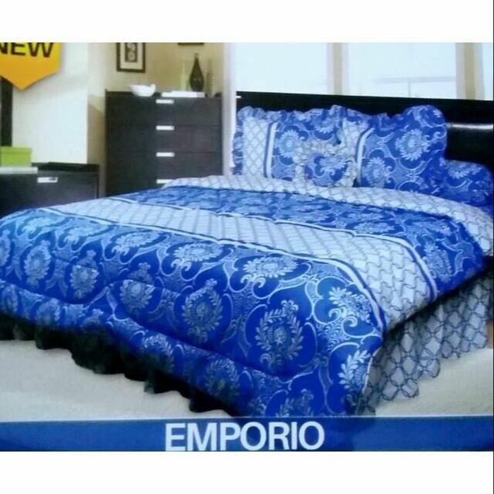 BEDCOVER SET KING CALIFORNIA EMPORIO 180X200 CM Exclusive