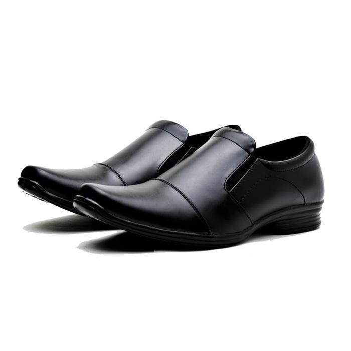 Sepatu Kerja Pantofel Kantor Formal Pria Kulit Murah Berkualitas JT10