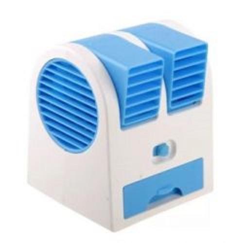 AC Duduk Mini Portable - Double Blower Mini AC