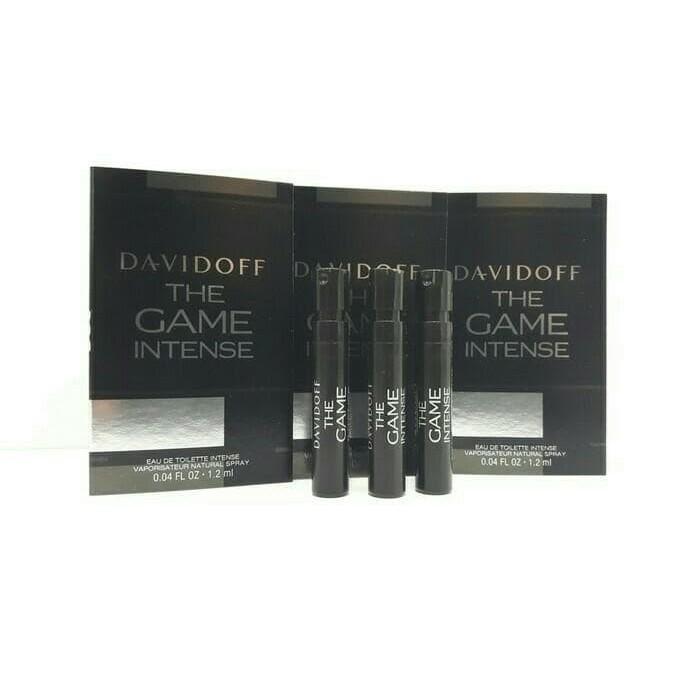 Original Parfum Davidoff The Game Intense EDT 1-2Ml M (Vial)
