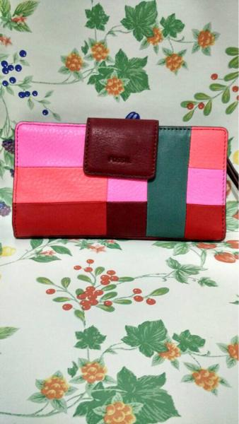 ASLI!!! ready Fossil sydney tab wallet pw pink jual dompet fossil original - yXtggV