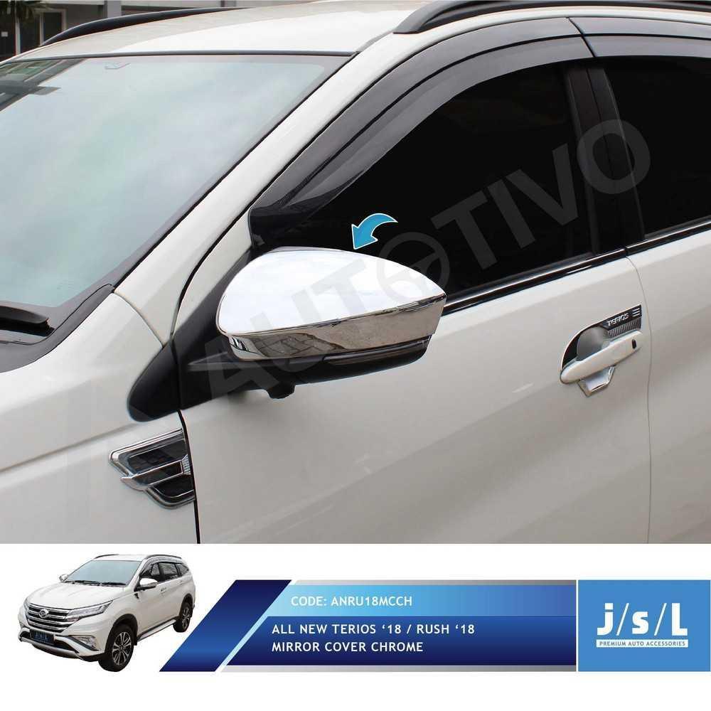 All New Terios Cover Spion Depan JSL Mirror Cover Spion Chrome | Car